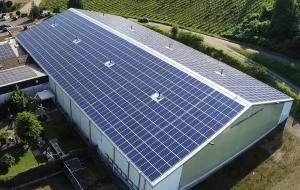 solar panels roof installation